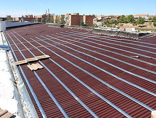 Empresa tejados madrid reforma onduline presupuestos 918862209 - Precio onduline bajo teja ...