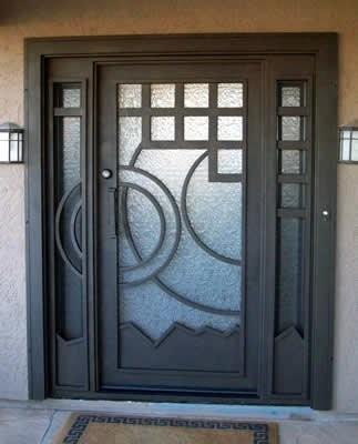 Cerrajeria madrid fabricaci n puertas 918862209 financiaci n for Puertas de metal con vidrio modernas