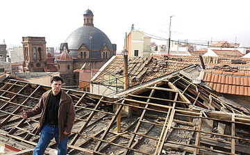 rehabilitacion de estructura de tejado