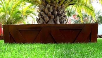jardineras de diseño acero corten